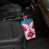 Car Trash Bag ~ Duck Egg Blue