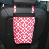 Car Trash Bag ~ Blossom Lattice