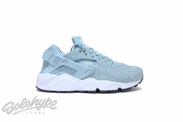 NIKE WOMENS AIR HUARACHE PRINT CANNON PURE PLATINUM ANTHRACITE 725076 006
