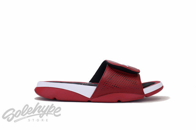JORDAN HYDRO 5 RETRO V GYM RED WHITE BLACK 820257 601