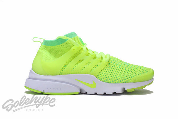 NIKE WOMENS AIR PRESTO FLYKNIT ULTRA VOLTAGE GREEN VOLT 835738 300