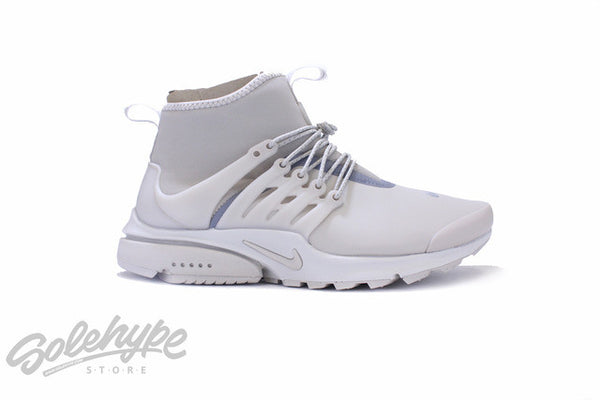 NIKE WOMENS AIR PRESTO MID UTILITY STRING LIGHT BONE WATERPROOF 859527 200
