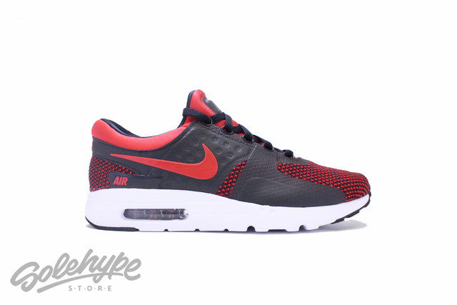 NIKE AIR MAX ZERO ESSENTIAL UNIVERSITY RED BRED 876070 600