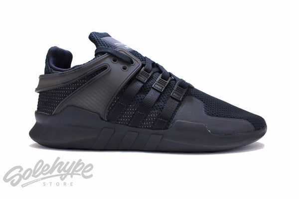 ADIDAS EQT SUPPORT ADV CORE TRIPLE BLACK 91-16 EQUIPMENT BA8324