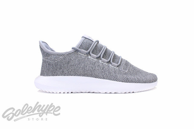 ADIDAS WOMENS TUBULAR SHADOW W GREY HEATHER WHITE KNIT BB8870