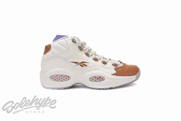 REEBOK QUESTION MID SNS SNEAKERSNSTUFF LUX IVERSON OSTRICH BROWN BD2532