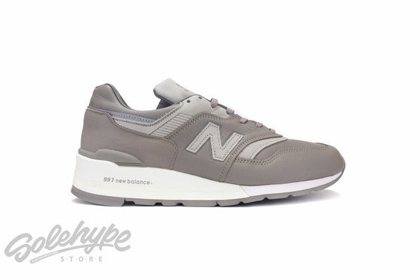 NEW BALANCE 997 BESPOKE HORWEEN LEATHER MADE IN USA BEIGE GREY M997BKR