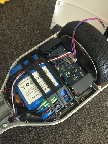 the cables in hoverboard