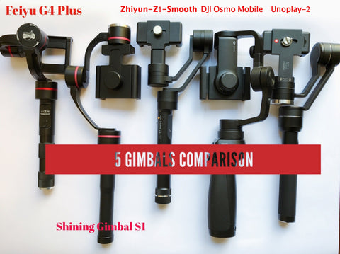 best phone handheld gimbal stabilizers