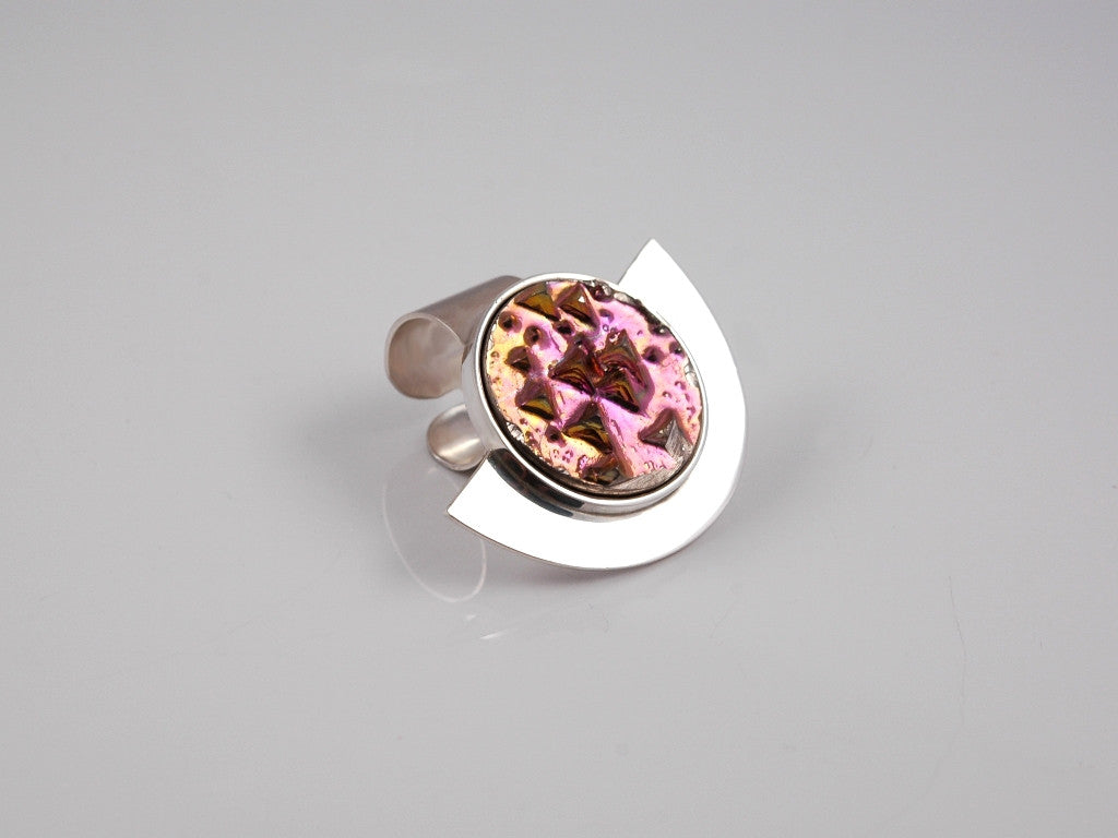 Pink Horizon ring