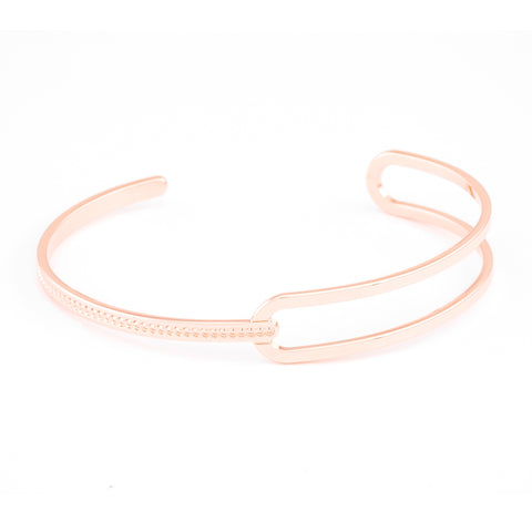 L'Heure Bleue (The Blue Hour) Cuff (Rose Gold)