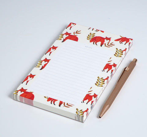 Notepad: FOXES