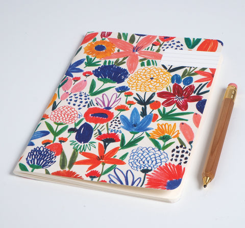 Notebook: FLEURS SAUVAGES (WILD FLOWERS)