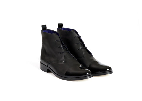 Lace-up Ankle Boots—ONLY ONE SIZE LEFT!