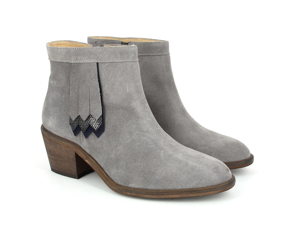 Gray Secret Boot Schmoove Heroine L'Ingenue