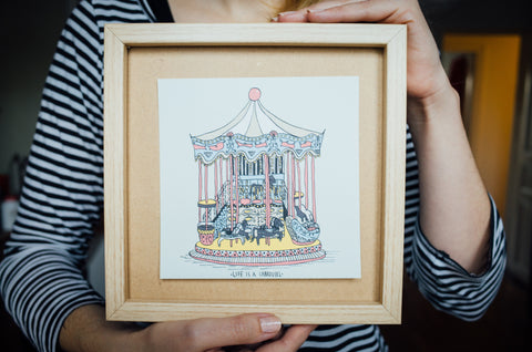 Paris Prints—Life is a Carrousel