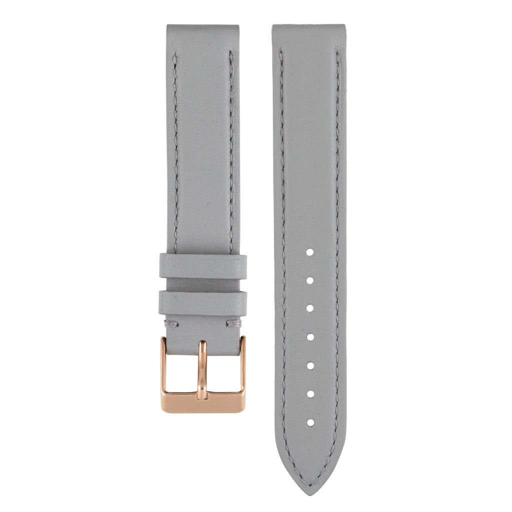 L'AUDACIEUSE STRAP: GREY LEATHER