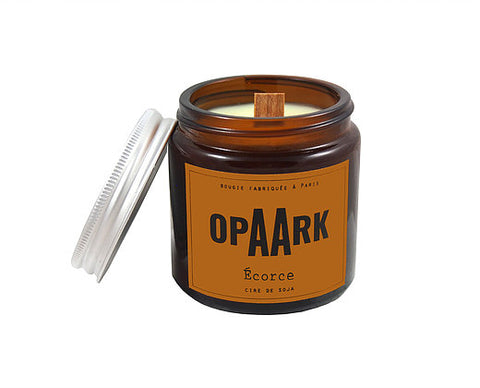OPAARK Scented Candle: Bark