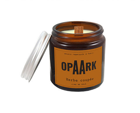OPAARK Scented Candle: Freshly Cut Grass