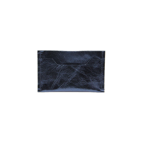 Smith Leather Cardholder in Midnight Blue