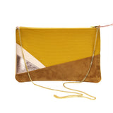 Ziggy Pochette in Saffron
