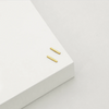 BAR STUD EARRINGS (GOLD)