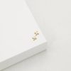 CROSS STUD EARRINGS (GOLD)