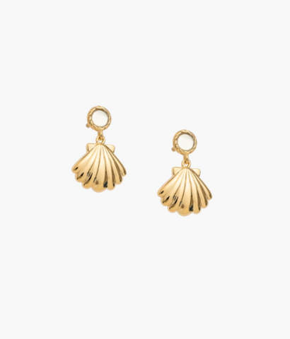 SEASHELL EARRING SET (GOLD)