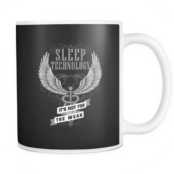 Sleep Tech Mug | Sleep Technology It's Not For The Weak
