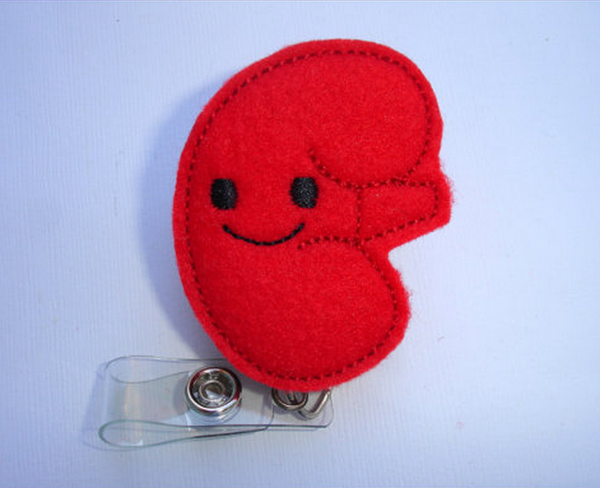 Nephrology Handmade Badge Reel | Kidney