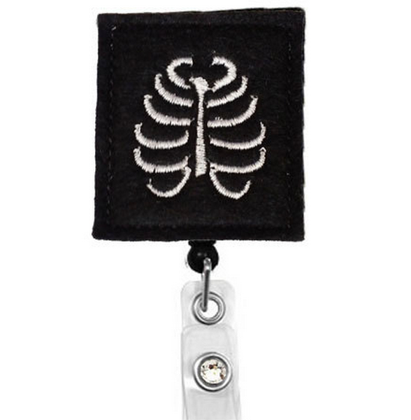 Radiology Handmade Badge Reel | Xray