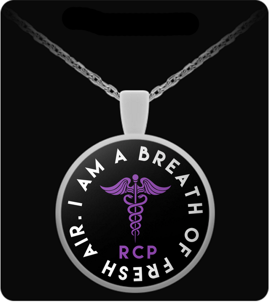 Respiratory Care Practitioner Necklace | I Am A Breath Of Fresh Air