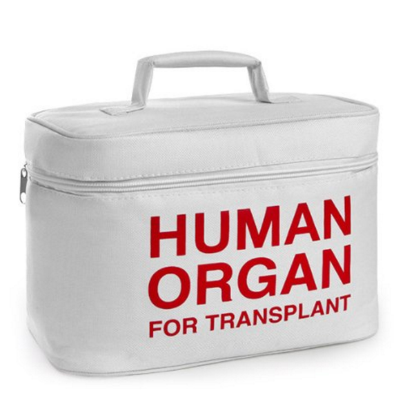 Health Professional Lunch Cooler Bag | Human Organ For Transplant