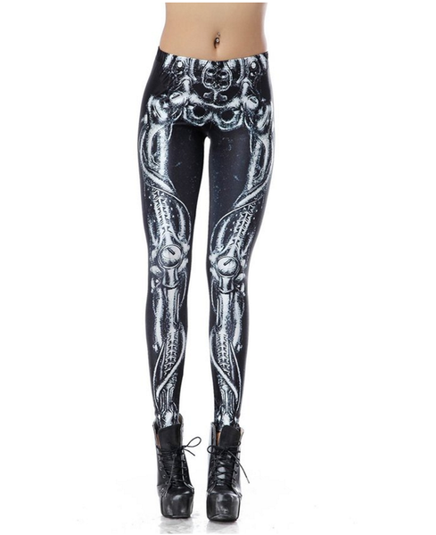 Anatomy Leggings | Bone