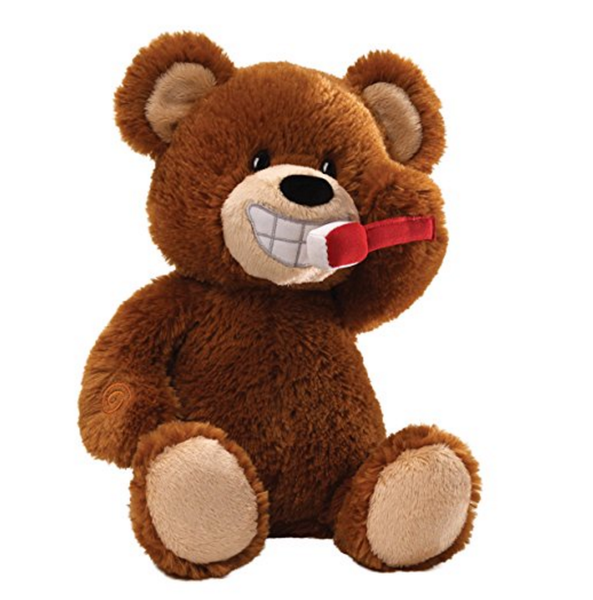 Dental Care Soft Toy | Teddy Bear Brushes Teeth