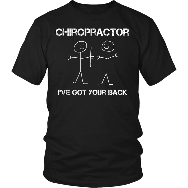Chiropractor T-shirt | I've Got Your Back