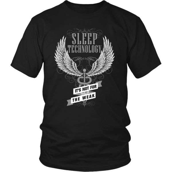 Sleep Tech T-shirt | Sleep Technology It's Not For The Weak