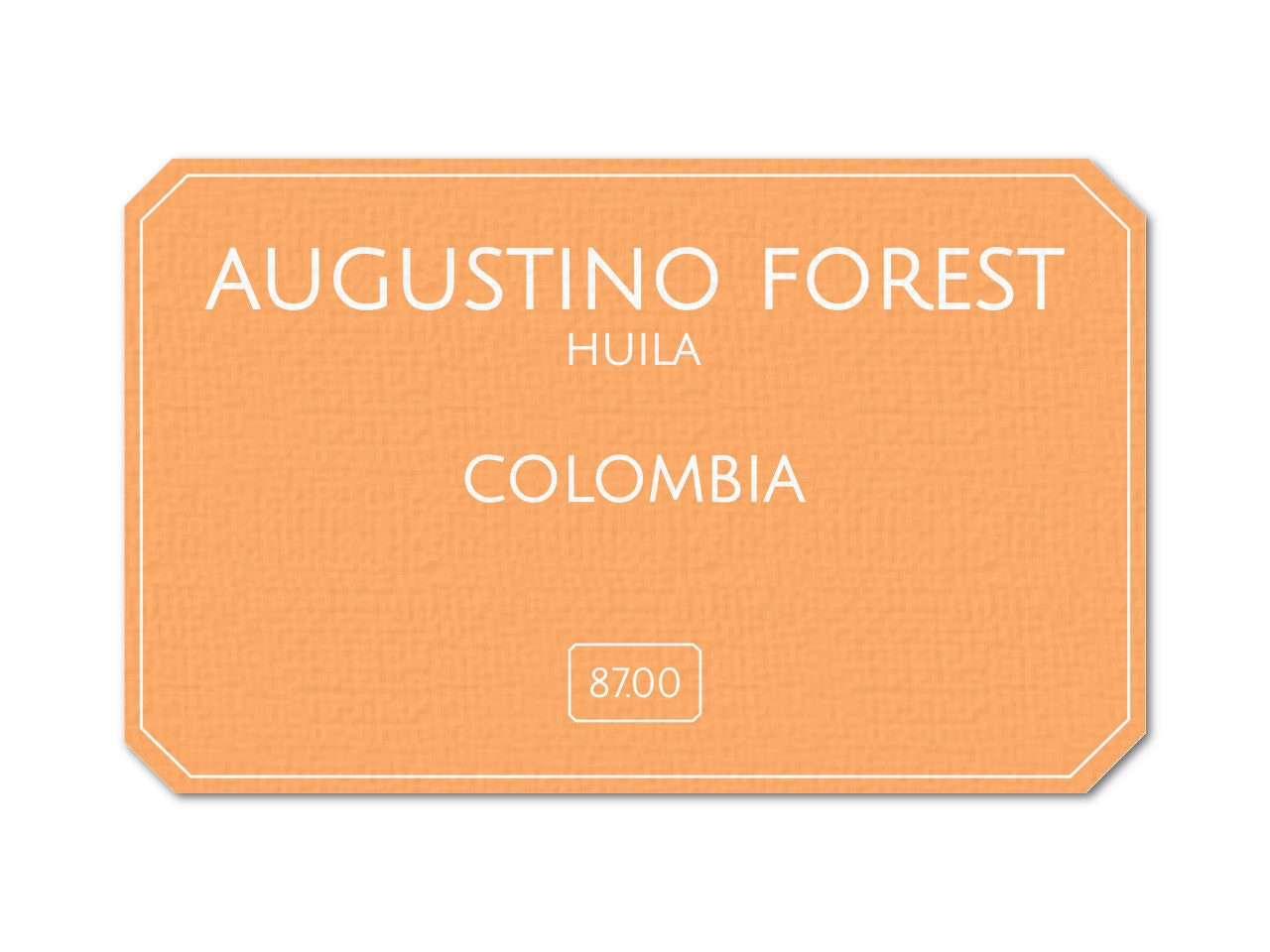 Augustino Forest - Colombia - Gardelli Specialty Coffees