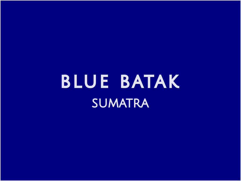 Blue Batak - Sumatra - Gardelli Specialty Coffees