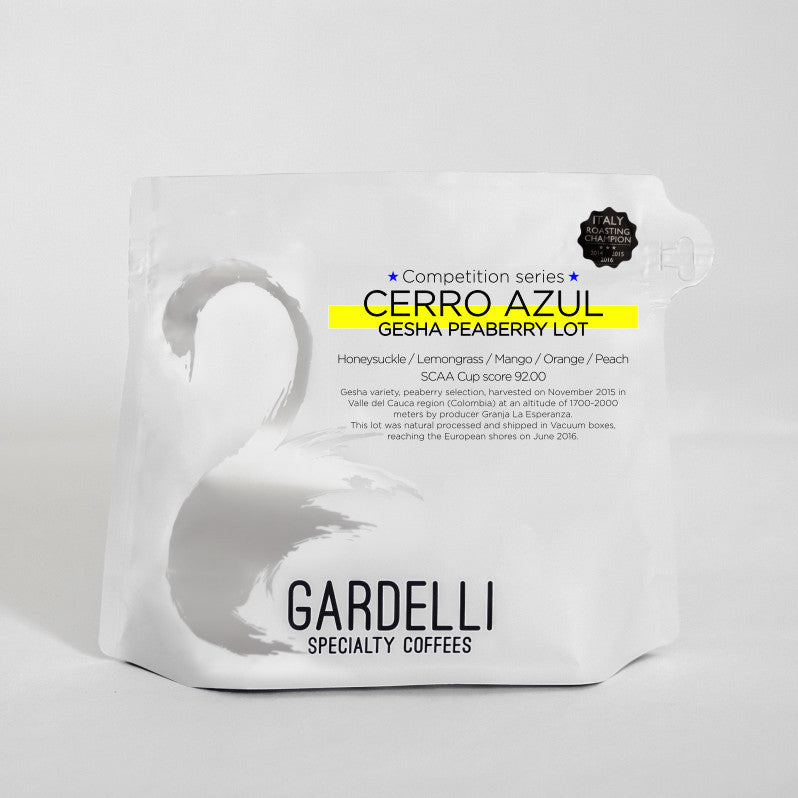 Cerro Azul Gesha peaberry - Colombia - Gardelli Specialty Coffees