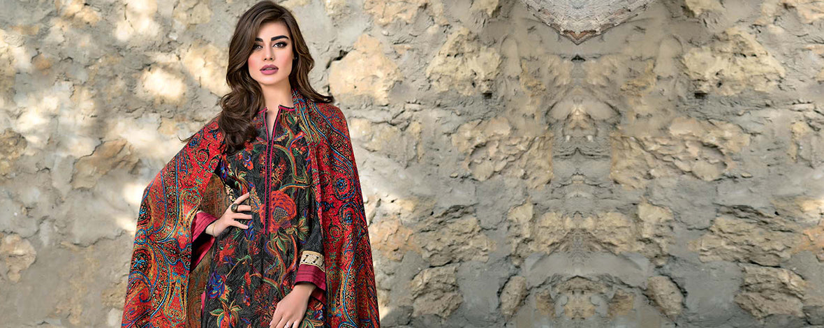 Gul Ahmed Pashmina Woolen Collection