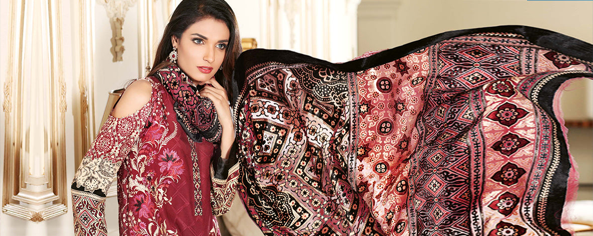 Gul Ahmed Velvet Collection