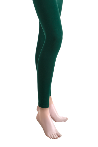 Green Jersey Tights - TR-14-069