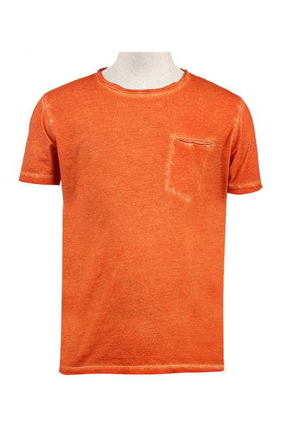 Orange Vintage Graphic T-Shirt - JGP-D150-2