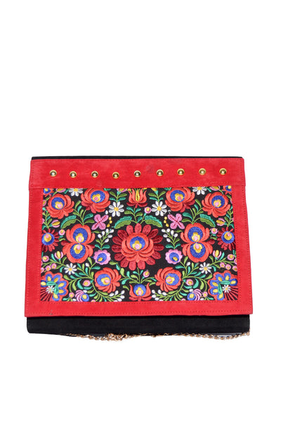 Black & Red Clutch DSB-220