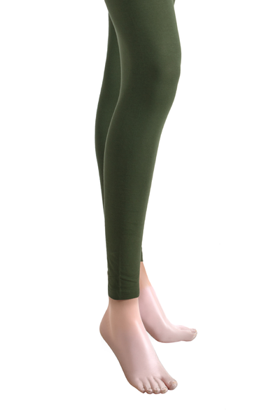 Green Jersey Tights - TR-15-044
