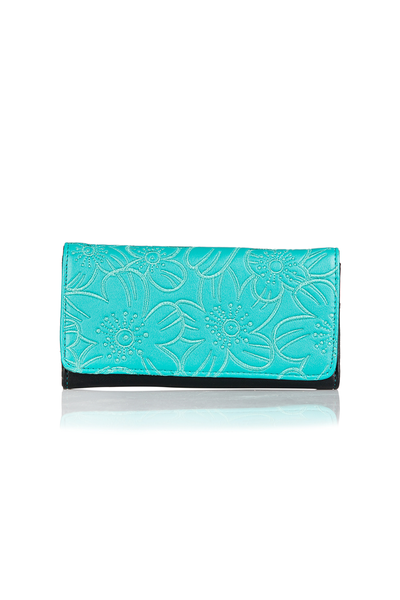 Turquoise Clutch - 1106