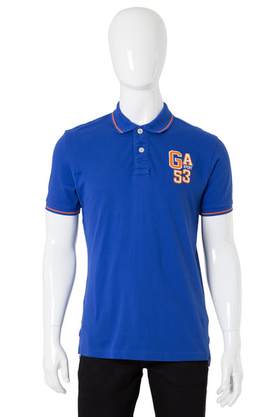 Blue Single Tuck Polo Shirt PKP-URB-05