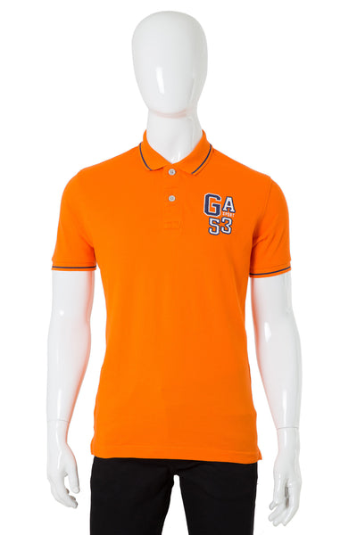 Orange Single Tuck Polo Shirt PKP-URB-06