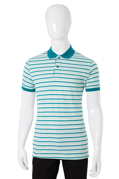 Green Yarn Dyed Polo SJP-YD-D36-03